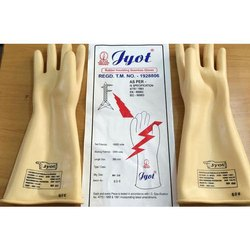 Rubber Insulating Seamless Gloves