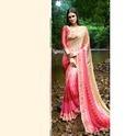 Satin Printed Party Wear Georgette Saree
