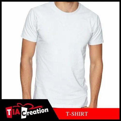 Round Neck T-Shirt Sublimation