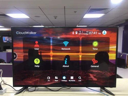 cloudwalker black 109 cm (43 inch) full hd led tv, screen size: 43