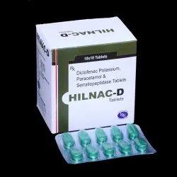 Diclofenac Paracetamol & Serratiopeptidase Tablets