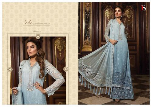ba2d541aa7 Deepsy Maria b 2 Georgette Heavy Embroidered Semi-Stitched Pakistani Suits