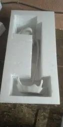 Boxes Thermocol Packaging, Thickness: 250mm, Capacity: White