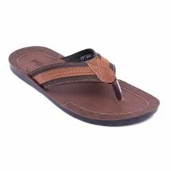 Brown Synthethic Leather 4715 Formal Slipper