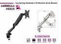 Gas Spring Aluminium Lcd Monitor Desk Mount