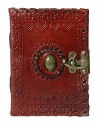Handmade Leather Journal with Lock