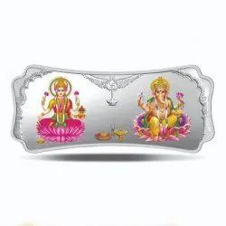Stylized Laxmi Ganesh - 100 gm  Coin