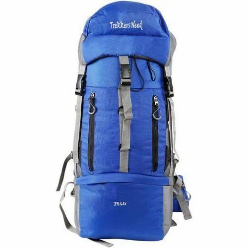dfa0125e62ab Trekkers Need Nylon Blue Trekking Rucksack Bag