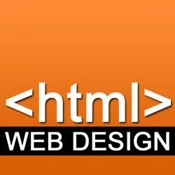 HTML Website Designing Service, With Chat Support
