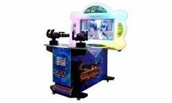 Gun Shooting Fire & Ice 32 LCD