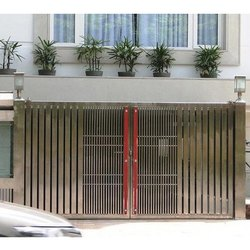 Paint Steel Metal Gate Fabrication Service