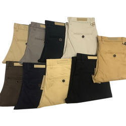 Men All Colors Available Cotton Trousers