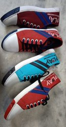 Men Canvas Play Casual Shoes, Size: 6 To 9