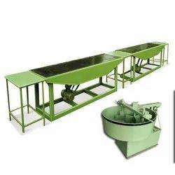 Mild Steel Designer Tile Making Machine For Industrial