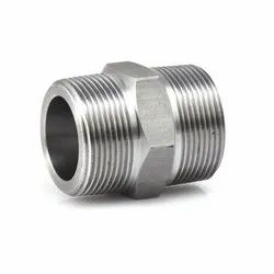 Alloy Steel Threaded Hex Nipple