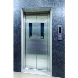 Silver Elevators Stainless Steel Door