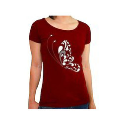 Ladies Cotton Half Sleeves Tops