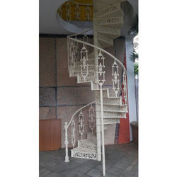 Cast Iron Sprial Staircases