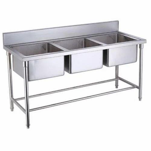 Kitchen Triple Bowl Sink