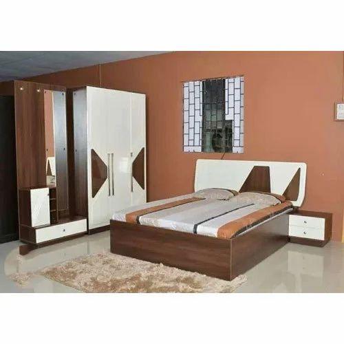 Wood Bedroom Furniture Set, Rs 72000 /set, TVK Furniture | ID ...