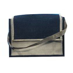Plain Jute Laptop Bags