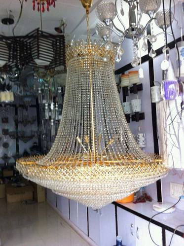 Hanging crystal chandeliers a one glass emporium manufacturer in hanging crystal chandeliers aloadofball Image collections