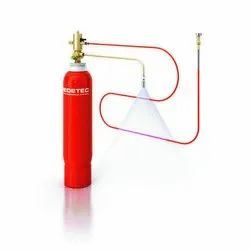 Carbon Steel Tube Based Fire Suppression System, For Commercial