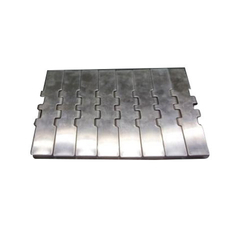 Stainless Steel Slat Chains Side Flexing