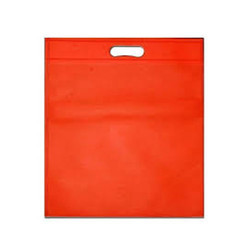 Plain D-Cut Non Woven Bag