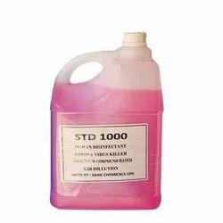 Quaternary Ammonium Compound Disinfectant Spray Chemical