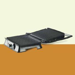 Gray Bajaj Majesty New SWX 8 Sandwich Grill Toaster