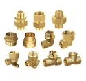 Brass Hydraulic Pipe Fittings, Size: 1/4 -1 And 1-2 Inch