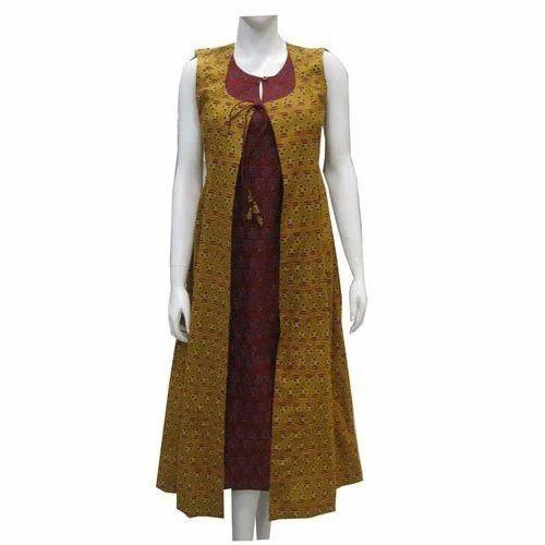 Long Jacket Style Designer Kurti At Rs 500 Piece Sanganer