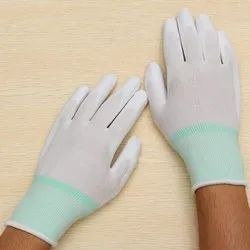ESD PU Coated Nylon Gloves