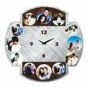 Collage Frame Wall Clock