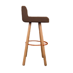 dering upholstery chair contemporary mid counter stool carlyle furniture collective nuka century transitional modern hall wood barstools fabric bar stools