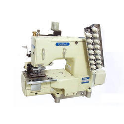 BAIHUI 6 Needle Feed Heavy Weight Waist Banding Machine