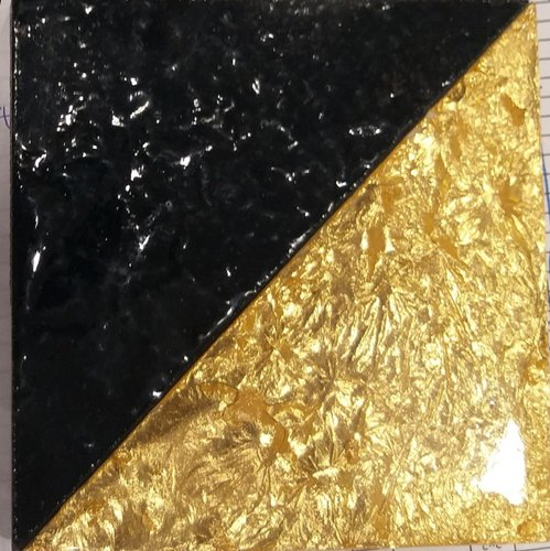 Polished Gold Rombus Tile, Thickness: 5-10 mm
