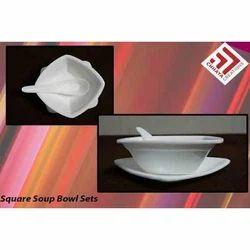 Acrylic Square Bowl Sets