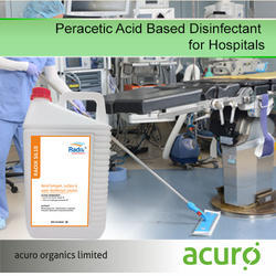 Peracetic Acid Based Disinfectant For Hospitals, 5000ml / 1000ml ( 1ltr)