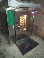 Diesel Fired 14 Tray Rotary Rack Oven