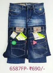 Hanex Distressed Denim Jeans