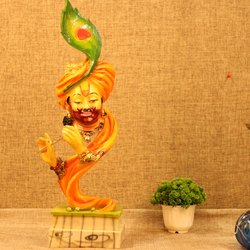 Khatu Shyam God Statue, Resin Made And Rich Look