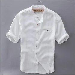Male Plain Summer Shirts