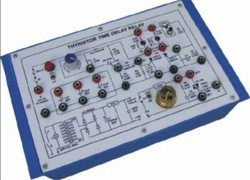 Thyristor Time Delay Relay Trainer Kit