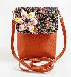 Shoulder Bag Adjustable Designer Ladies Bag, Size: 8 Inches, 100 Gms