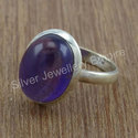 925 Sterling Silver Jewelry Nice Amethyst Gemstone Set
