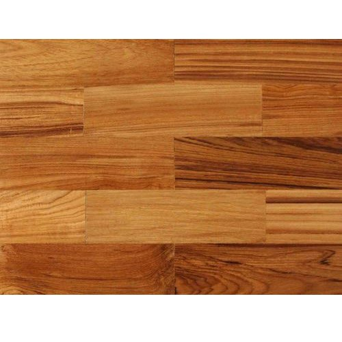 Brown Wood Parquet Wooden Flooring, Thickness: 10 To 20 Mm