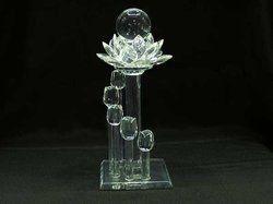 Flower Crystal Trophy