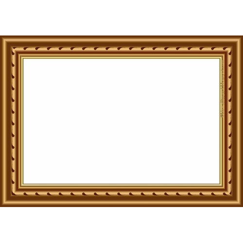 Rectangle Golden Photo Frame